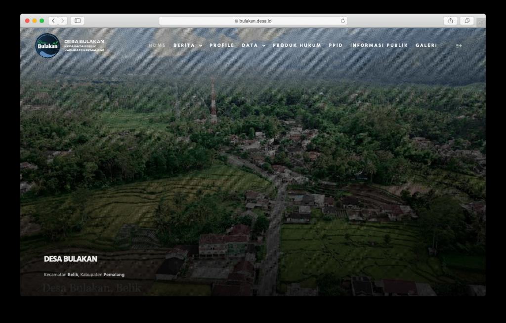 Website Desa Bulakan